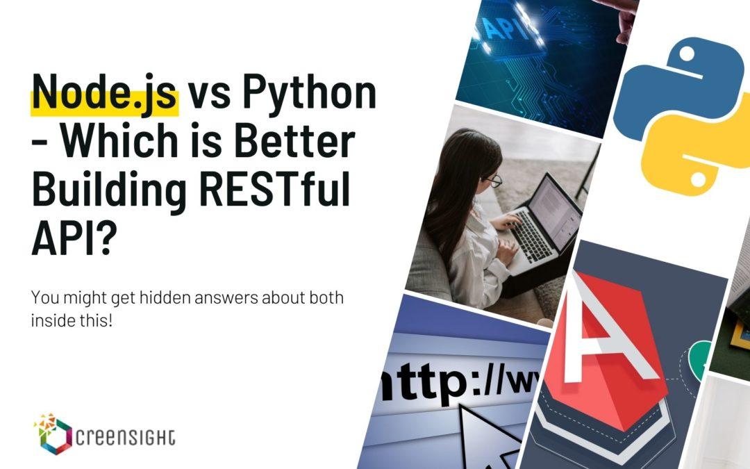 python vs angular api development