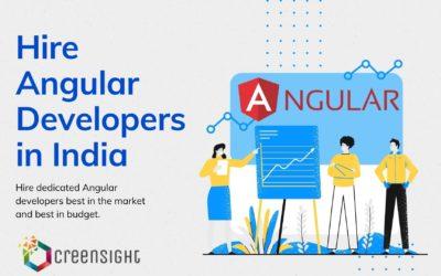Hire Dedicated Angular Developer From India