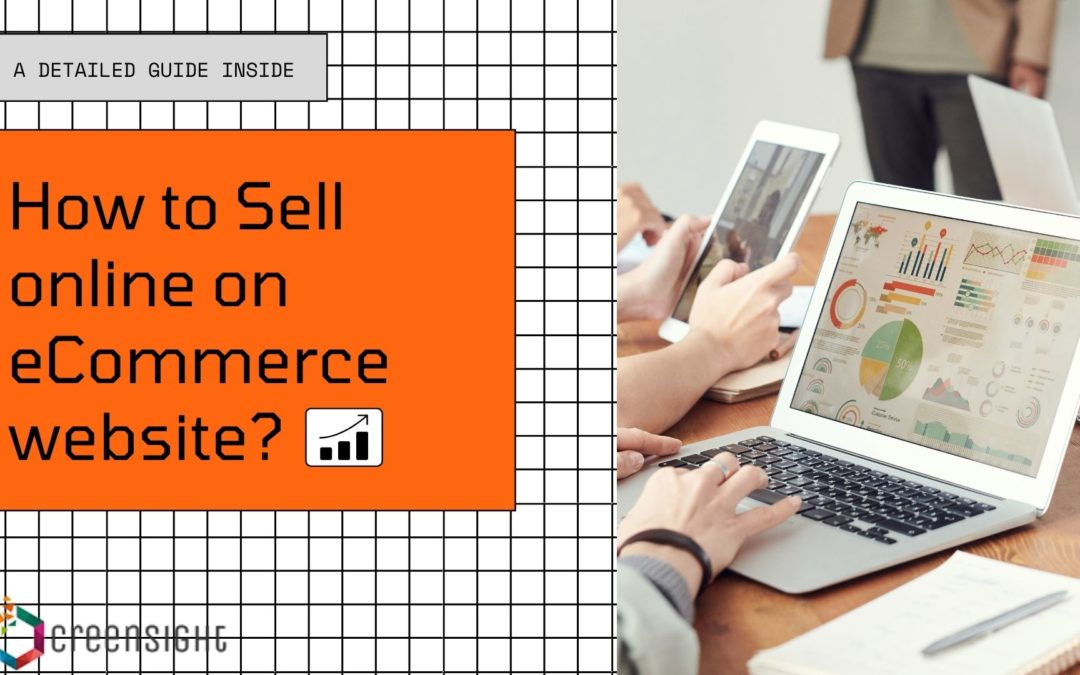 how to sell online by developing eCommerce website
